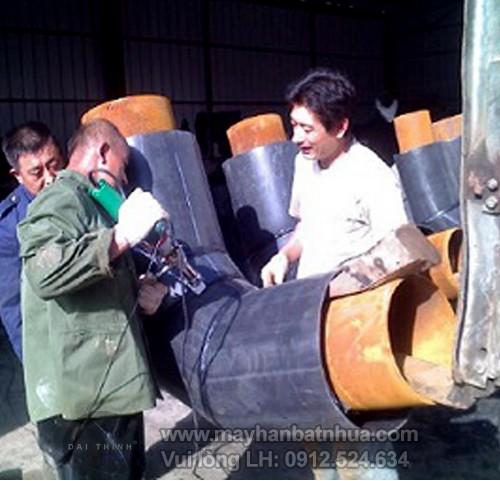 Máy hàn đùn LST 600B hàn ống nhựa HDPE